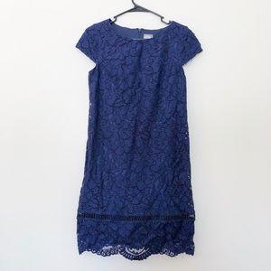 Vince Camuto Blue Lace Dress